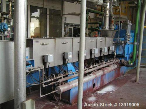 Used-Werner Pfleiderer ZSK-113 M 1510 Twin Screw Extruder