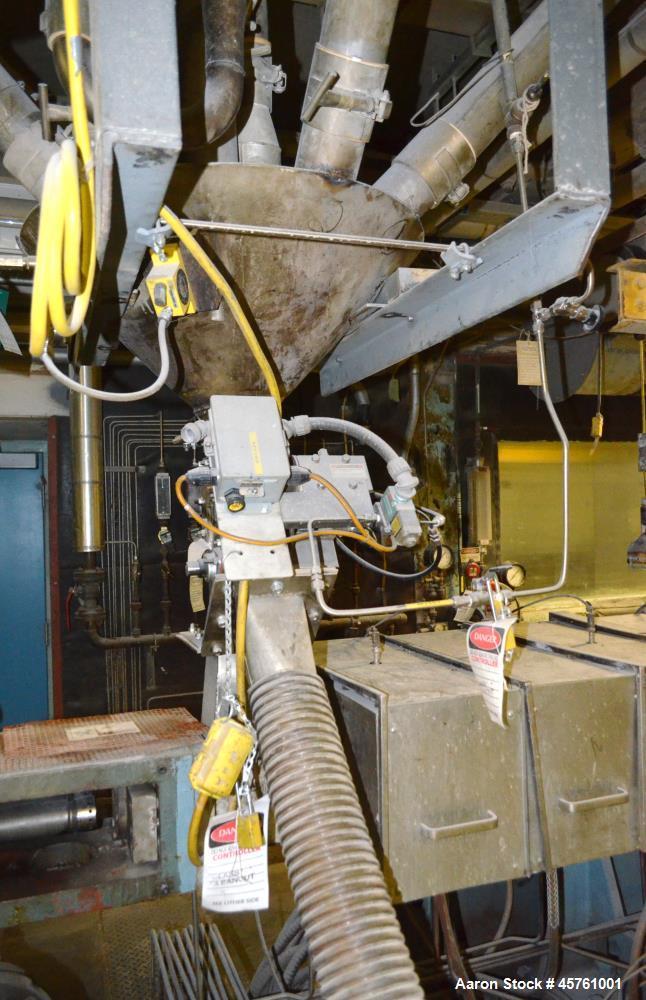 Used- Werner & Pfleiderer Twin Screw Pelletizing Line