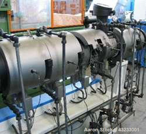 Used-Werner Pfleiderer ZSK58 Compounding Line for PE, PP, PS & CaCO3