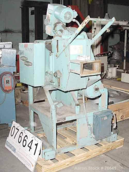 "Used- Alsteele Pelletizer. Approximate 8"" diameter x 8"" wide rotor. 2 metal pull rolls, 1 driven by a 1 hp varispeed motor. ..."