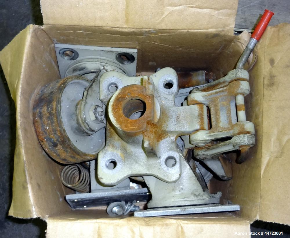 """Used- Conair Pelletizer, Model 304. Approximately 4"""" wide 20 blade rotor, (1) rubber, (1) metal pull roll.  Driven by a 2 hp..."""