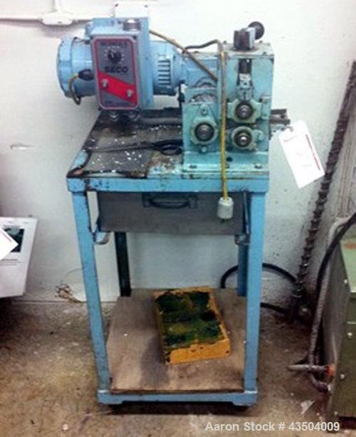 "Used- Killion Strand Pelletizer. 2"" Wide with DC motor and SCR control."