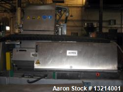 "Used- Rieter Water Slide Pelletizer, Type ""VARIO"" USG 600/1. Pelletizer is rated at 20,000 lbs. per hour. New blades and sha..."