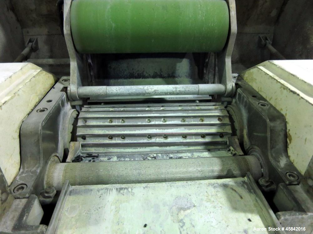 Used- Rieter Pelletizer, Type ASG 300, Built in 1995