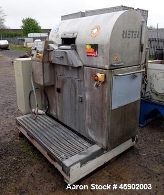 Used- Reiter Automatik Strand Pelletizer