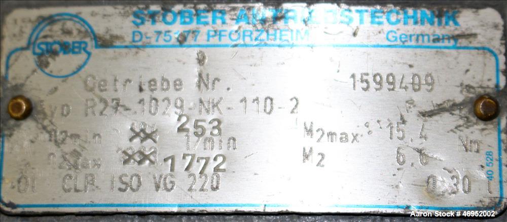 Used-C. F. Scheer Pelletizer, Model SGS 50-E.