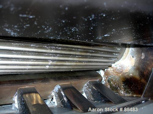 """Used- S. F. Scheer Strand Pelletizer, Model SGS600. 24"""" wide x approximately 8"""" diameter fixed knife rotor. (1) Rubber, (1) ..."""