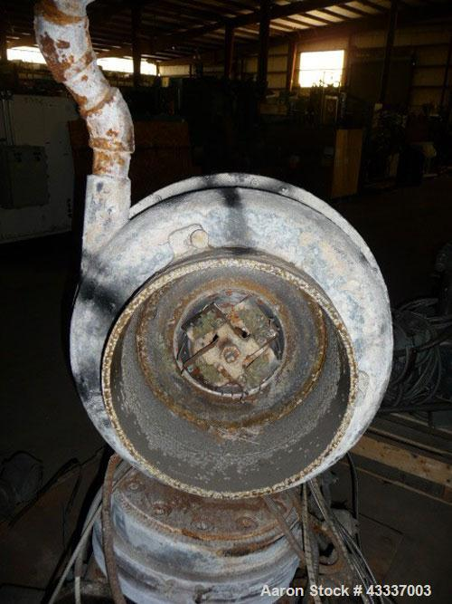Used- Beringer Water Ring Pelletizer Head Only. From a model WRP-12 pelletizer. 2 hp motor, 4 knife cutter hub, water ring, ...