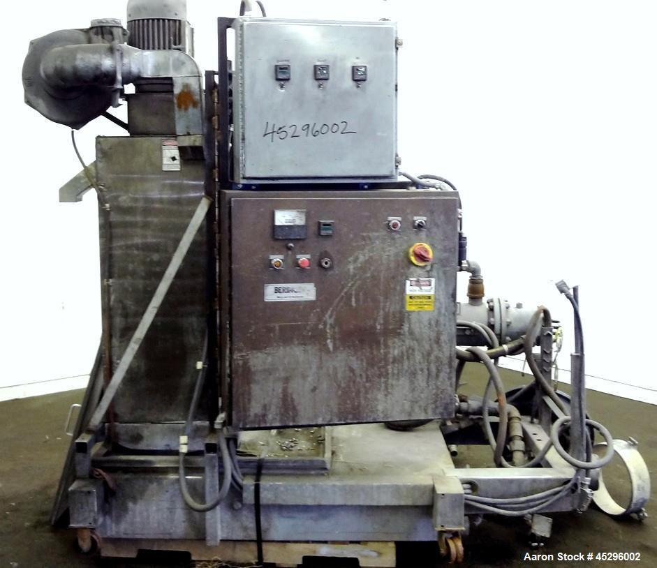 Used- Beringer Model WRP12 Underwater Pelletizer System