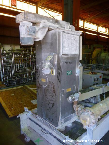 Used- Conair/Beringer Water Ring Pelletizing System. Includes operator control panel, 2 hp AC motor with inverter (208-230/4...