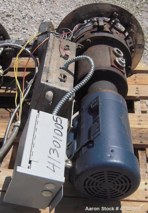 Used- Beringer Underwater Pelletizing Head. No blades. Driven by a 2 hp, 3/60/208-230/460 volt, 1740 rpm motor.