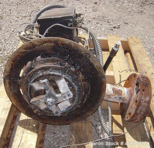 Used- Beringer Underwater Pelletizing Head.Driven by a 3 hp, 3/60/230/460 volt, 3450 rpm motor.
