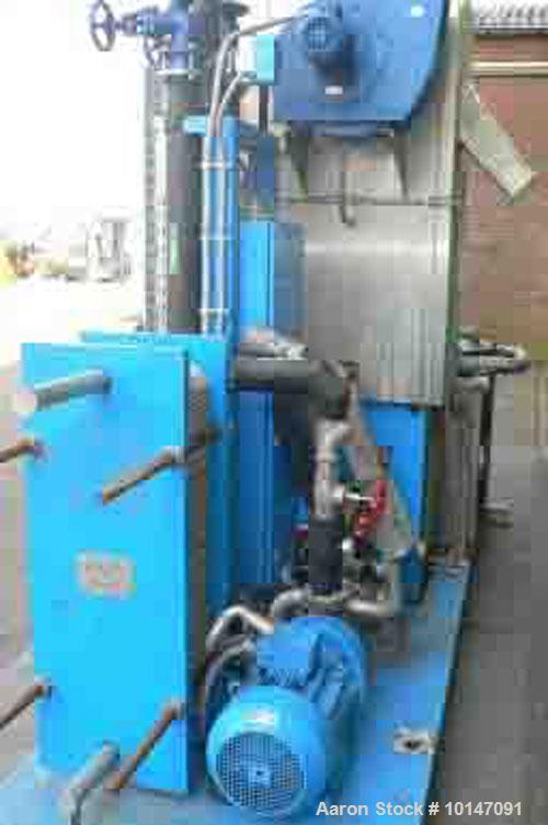 Used-BKG Bruckemann & Kreyenborg Granuliertechnik Underwater Pelletizing System
