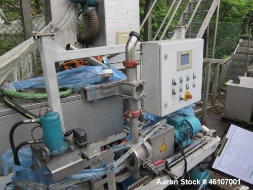 "Used- Econ EUP 600 Underwater Pelletizer. Built 2007. Capacity 1323 lbs/hour (600 kg/h), granulate size 0.06""-0.1"" (1.5-2.5 ..."