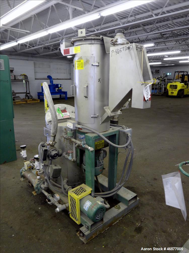 Used- Gala Pelletizing System Consisting Of: (1) Gala pelletizer Model 5, driven by a 2hp, 3/60/230-460/3490 rpm motor, seri...