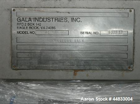 Used- Gala #6 Underwater Pelletizing System Consisting Of: (1) Underwater pelletizing head, water tempering system with 40 g...