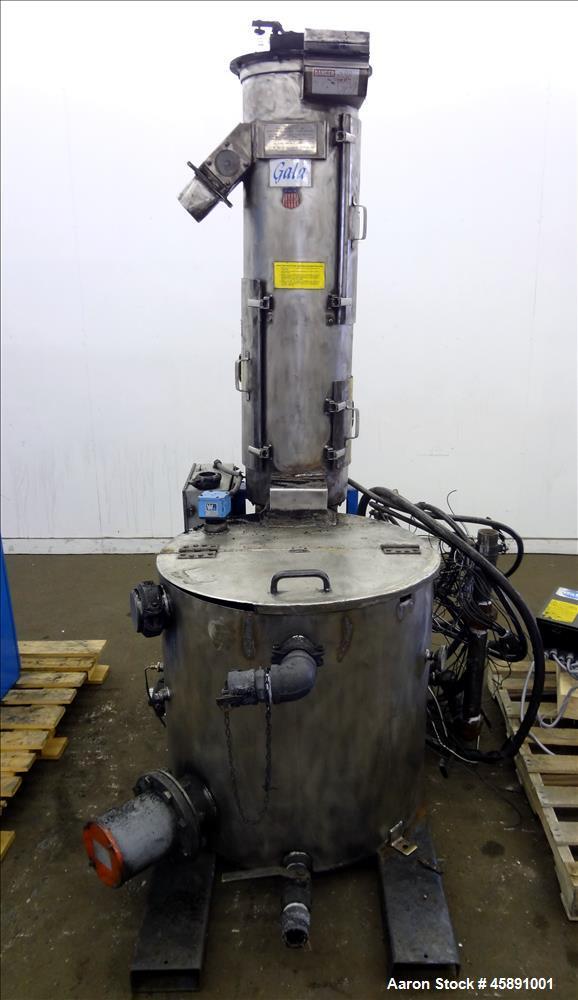 Used- Gala Model 6 Underwater Pelletizing System