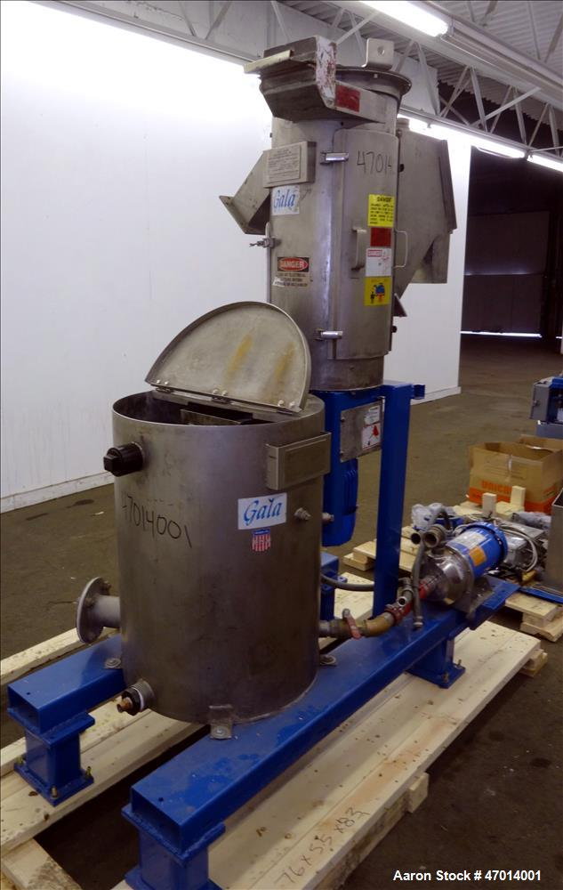 Used- Gala Underwater Pelletizing System