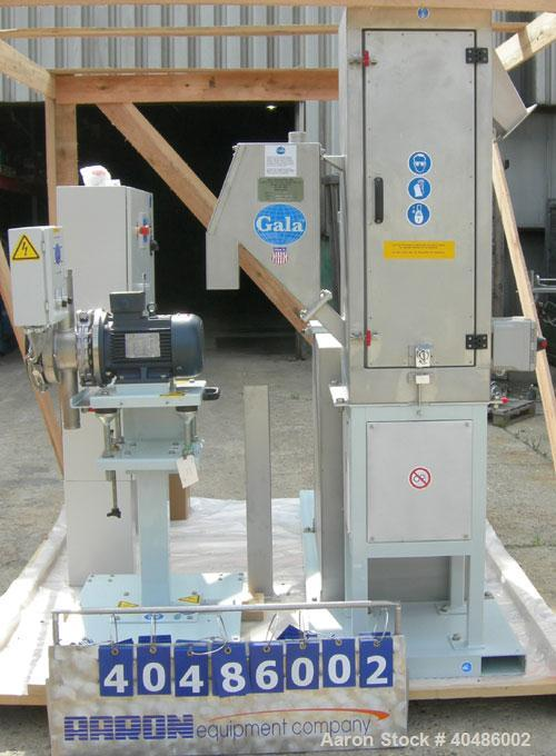 Unused: Gala model Edge 1000 underwater pelletizing system. Edge system is the new system designed for an economical underwa...