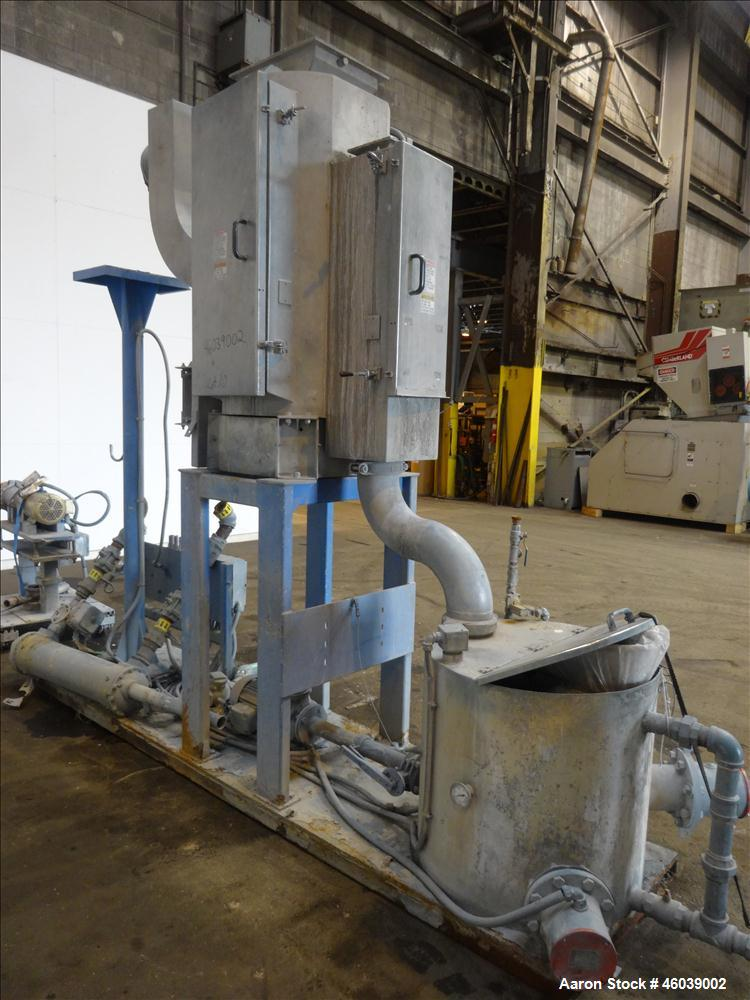 Used- Gala Underwater Pelletizing System Consisting Of: (1) Gala cutting head, model 6D, serial# 972498. Includes blades, an...