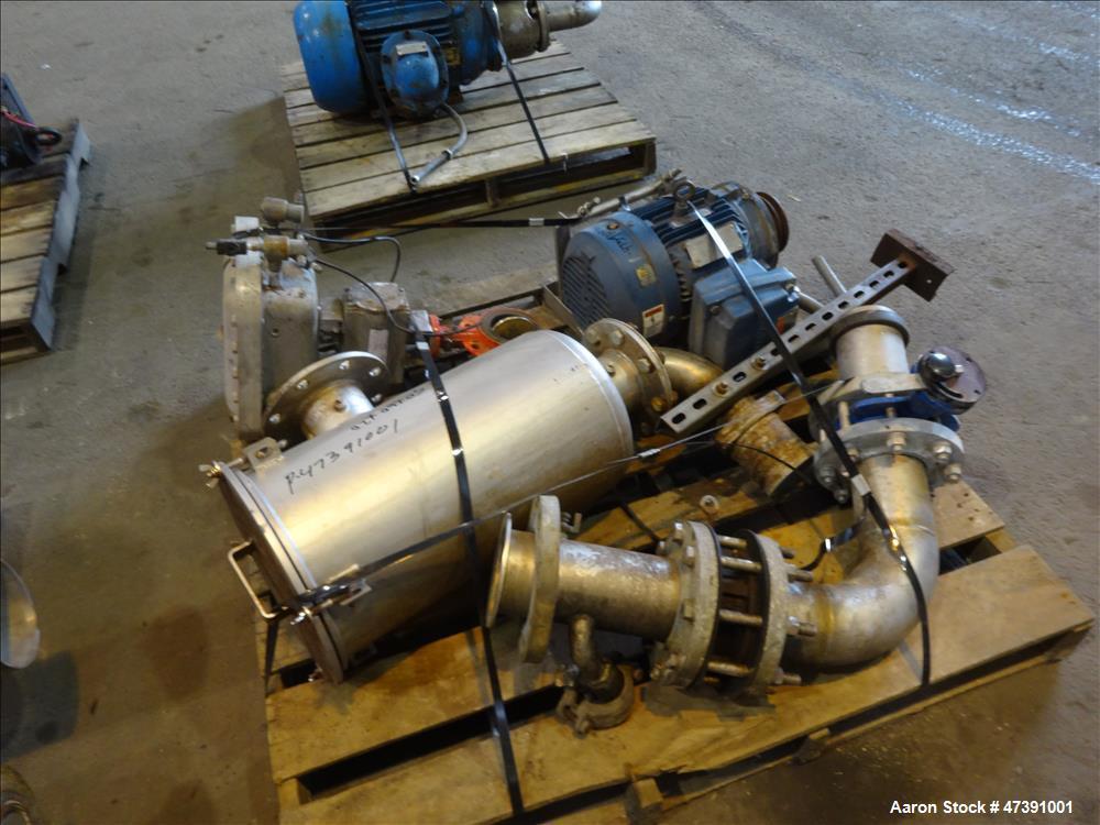 Used- Gala Underwater Pelletizer, Model MUP-7