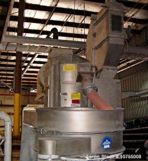 Used-Gala underwater pelletizing system, model 7. Unit includes a 15 hp dual blade cutter, TWS 120 gallon water system. Also...