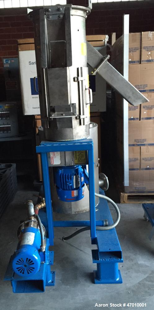 Used- Gala #6 Underwater Pelletizing System. Consisting Of: (1) Underwater pelletizing head, water tempering system with 40 ...
