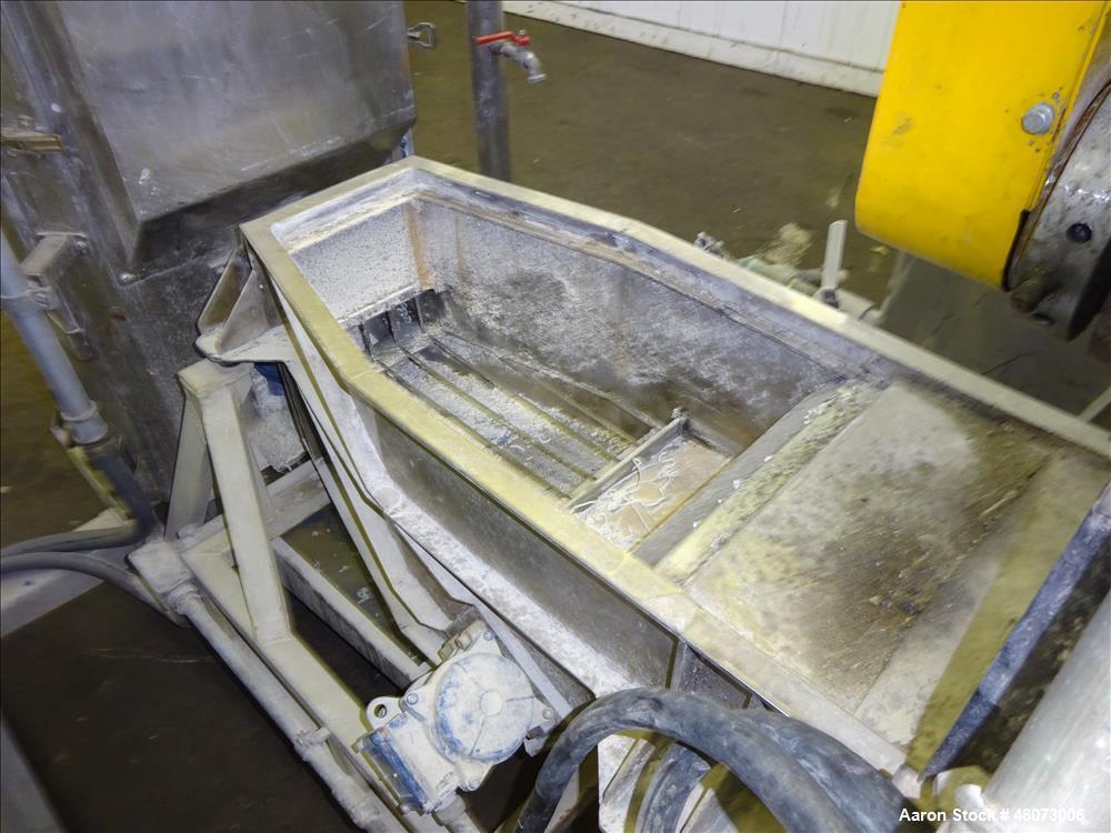 Used- Gamma Meccanica Horizontal Water Ring Pelletizer, Model TFD 250