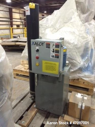 """Unused - 2013 Nordson Xaloy Water Ring Pelletizing System, Model WRP35S.  4 head cutter, die plate with 3 rows of 120 .093"""" ..."""