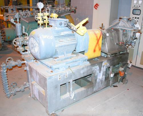 Used: Werner Pfleiderer underwater pelletizing cutting chamber and head