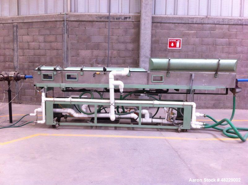 "Used- Complete HDPE Pipe Extrusion Line. Currently set up to 4.5"", can be modified up to 6"". Includes: NRM Davis extruder 3...."
