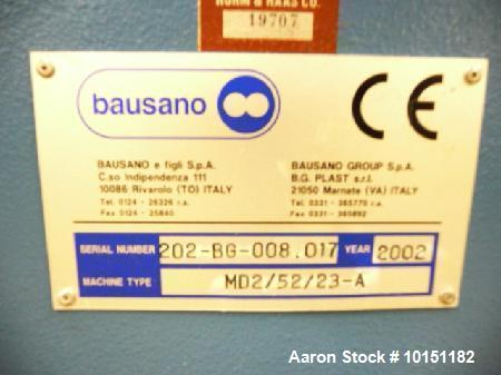 Used- Bausano Twin Screw PVC Pipe Line