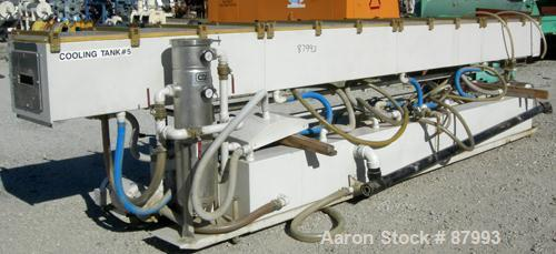 "Used- Custom Downstream Systems Vacuum Sizing Tank, Model CVS-20-16-20, 304 stainless steel. (4) Sections, 16"" wide x 20"" de..."
