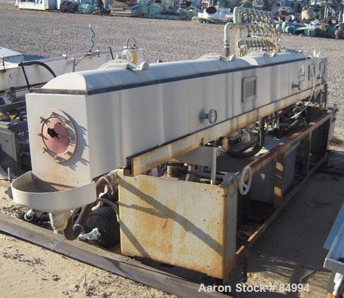 "Used- Conair Gatto Vacuum Tank, Model DPC0105C-14-3, stainless steel. Approximately 12"" wide x 12"" deep x 168"" long. Unit co..."