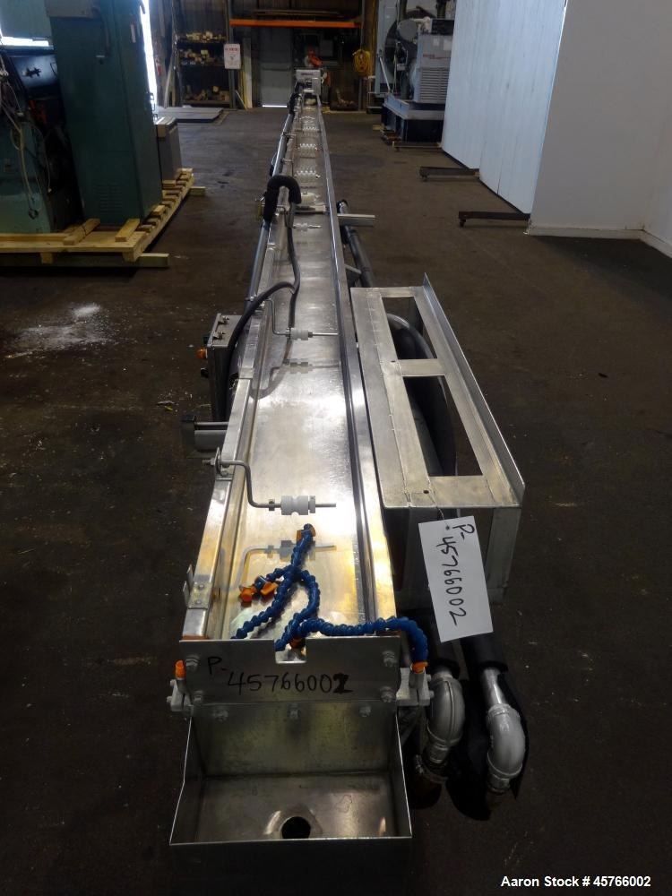 "Used- Davis Standard 3.5"" Single Screw Thermatic Extruder"