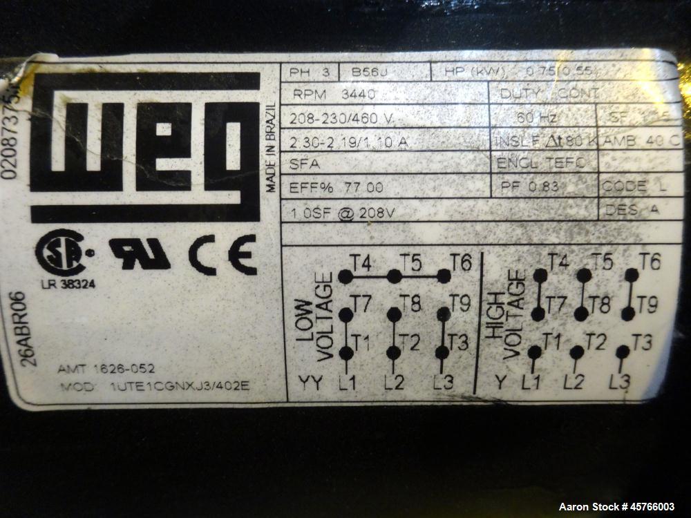 "Used- Davis Standard 2-1/2"" Single Screw Thermatic Extruder"