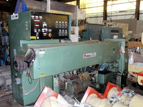 Used- Davis Standard / NRM Profile Extrusion Line consisting of the following: ,  One (1) Premier Pneumatics hopper feeder, ...