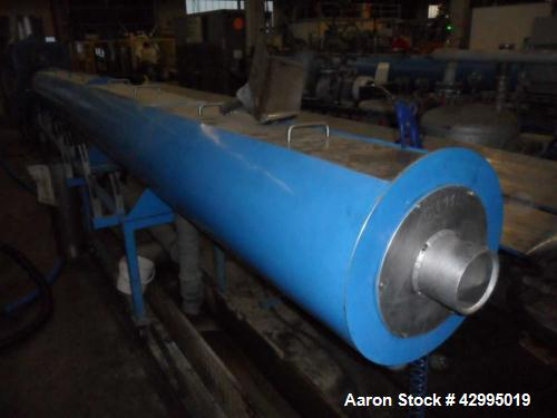 "Used- Pipe Extrusion Line for 9.84"" (250 mm) PE pipes."
