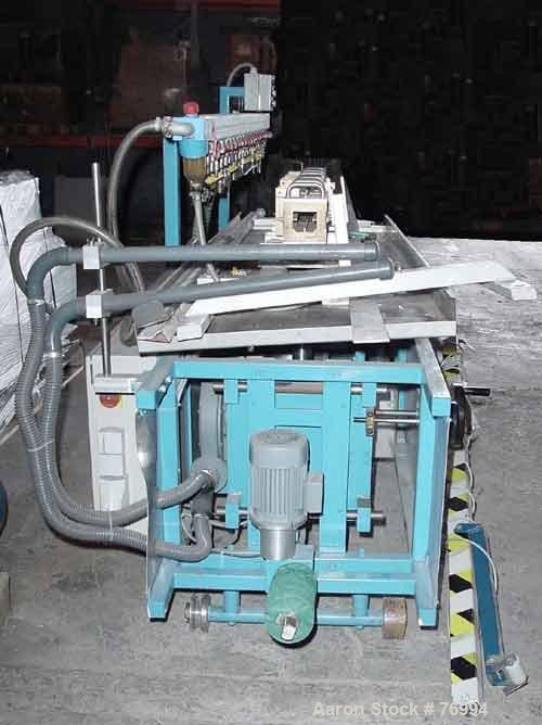 "Used- Extruplast Vacuum Calibration Table, Model KT2/2-3. Consisting of: (4) 15-3/4"" long sections, approximately 2"" wide x ..."