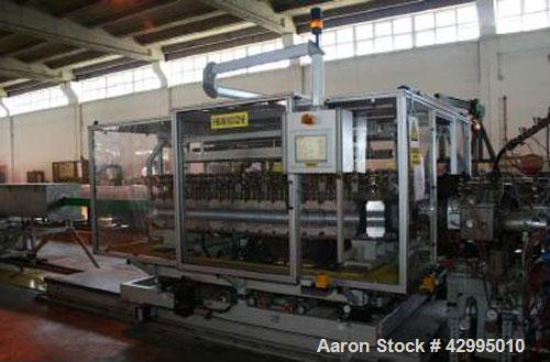 """Used-FDC 315-36V Double Wall Pipe Extrusion Line for HDPE and PE pipes, pipe diameter 1.96"""" - 9.84"""" (50 - 250 mm).  Comprise..."""