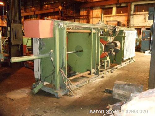 Used- Lycro Products Semiautomatic PVC Pipe Socket Forming Machine