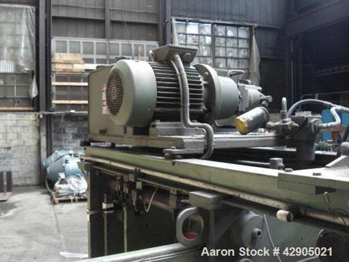 Used- Lycro Products Semi-automatic PVC Pipe Socket Forming Machine
