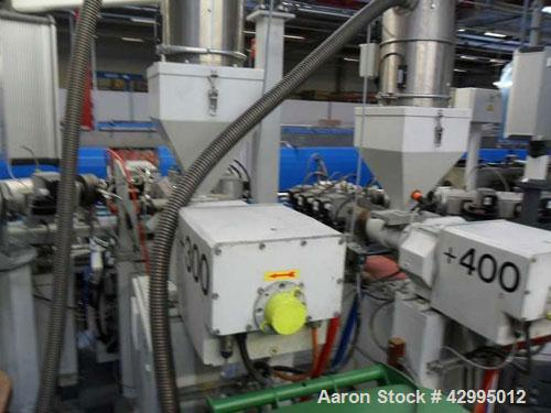 "Used-Maintools MT-CPL 12/40 Pipe Extrusion Line, used for multilayer pipe extrusion.  Pipe diameter 0.47-1.58"" (12 - 40 mm),..."