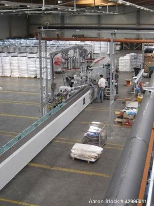 "Used-MT Multi-Layer Composite Pipe Extrusion Line for PE-RT, aluminum and PE-RT pipes.  Pipe diameter 0.47"" - 1.57"" (12 - 40..."