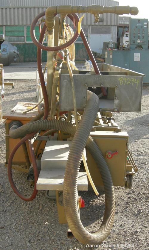 """Used- Metaplast Vacuum Sizing Tank, Model MVSP-8-15, 304 stainless steel. 24"""" wide x 10-1/2"""" deep x 8' long. (2) Sections, n..."""