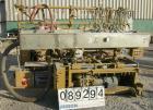 Used- Metaplast Vacuum Sizing Tank, Model MVSP-8-15, 304 stainless steel. 24