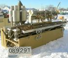Used- Royal Machine Dual Lane Vacuum Calibration Table, model 009, consisting of: (1) 17-1/2