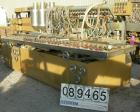 USED: Royal Machine dual lane vacuum calibration table, model 009, consisting of: (1) 17-1/2