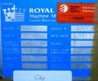 USED: Royal Machine vacuum calibration table, model 009, consisting of (1) 17-1/2