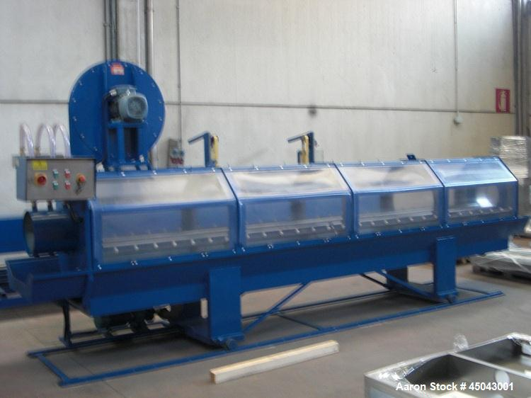 Used-Unicor UC500 Double Layer Pipe Extrusion Line for PE Pipes